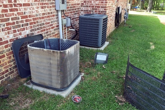 Hydes Ac Dirty Condenser Coils On Ac Unit