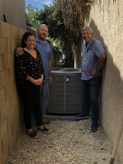 2019 Celebration of Giving AC System giveaway winner