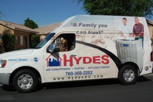 Hyde's is licensed, certified and extensively experienced in air conditioning and heating service.