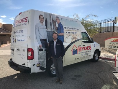The Hydes family has served the Coachella Valley for over since 1972.